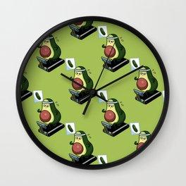 Avo-Cardio Monday Wall Clock
