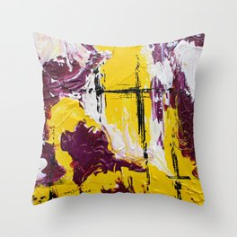 Mini Series [Rouge Yellow] Throw Pillow