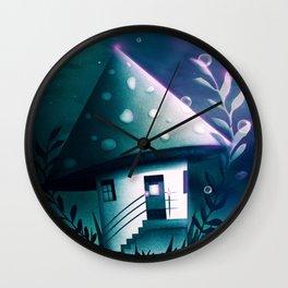Magic Mush Room Wall Clock