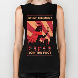 Stomp the Enemy Biker Tank