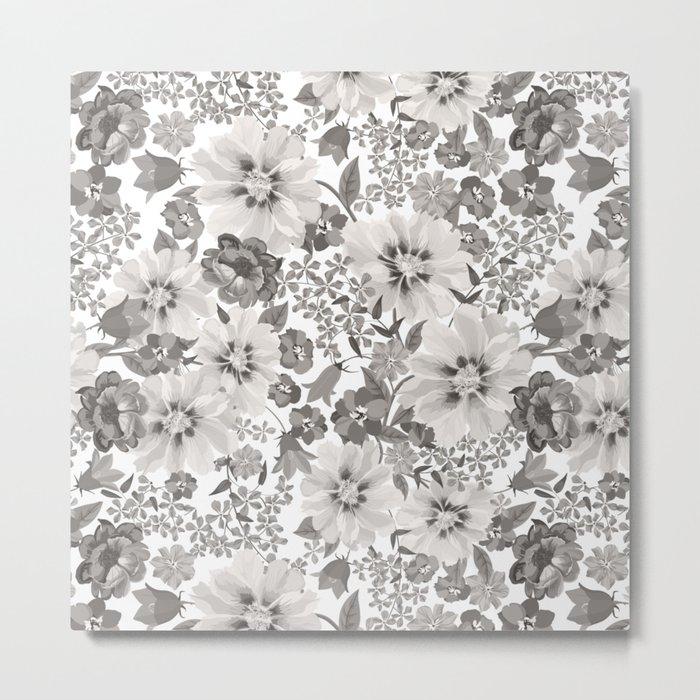 FLOWERS IV Metal Print