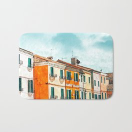 Burano Island #painting #digitalart #travel Bath Mat