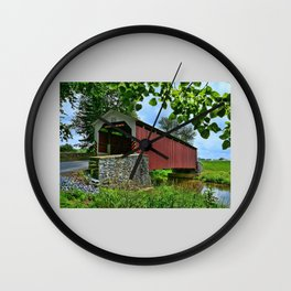 Another Sunday Drive  Wall Clock