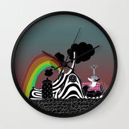 Navanax of Pleasure Wall Clock