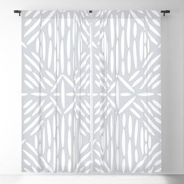 Angled Lines Blackout Curtain
