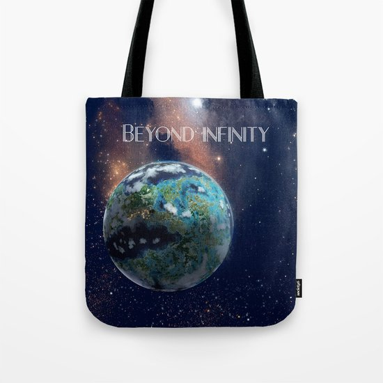 Beyond Infinity   Vacation Planet Tote Bag