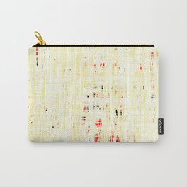 20190221 White Grid Coral No. 3 Carry-All Pouch