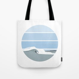 Surfer's Glory Day Tote Bag
