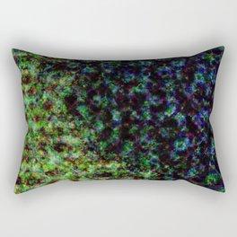 d61: color damage Rectangular Pillow