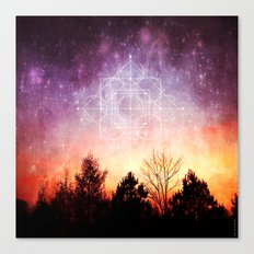 birth of a supernova Canvas Print