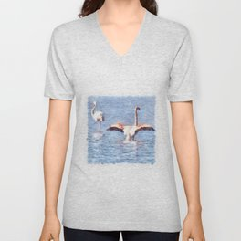 Time To Spread Your Wings Unisex V-Neck