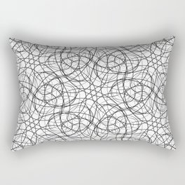 Curly cobweb Rectangular Pillow