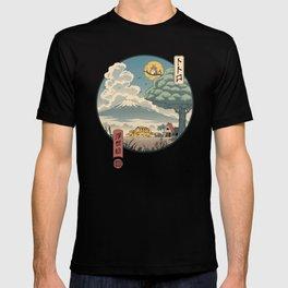 Neighbor's Ukiyo e T-shirt