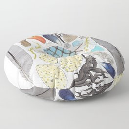 Coastal Treasures Floor Pillow