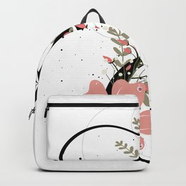 Letter E of the alphabet Backpack