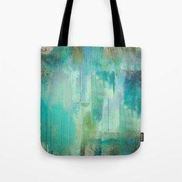 Aqua Circumstance Tote Bag