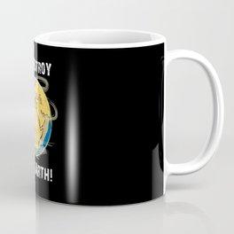 Climate Change Future CO2 Planet Earth Gift Idea Coffee Mug
