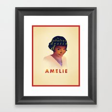 Amelie Framed Art Print