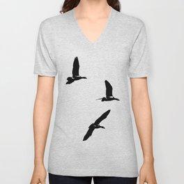 Birds 3 Unisex V-Neck
