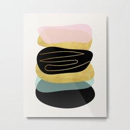Modern minimal forms 3 Metal Print