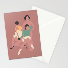 Mujeres Stationery Cards