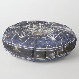 Galaxy poster Floor Pillow