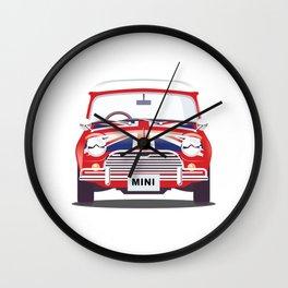 British Mini Wall Clock