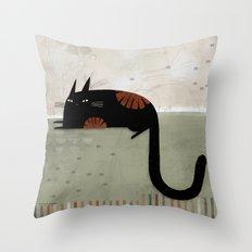 HOOK TAIL Throw Pillow