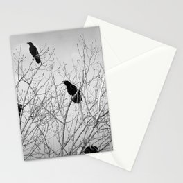A Murder of Crows Stationery Cards