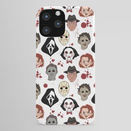 Horror Villains  iPhone Case