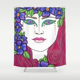 Antheia Shower Curtain