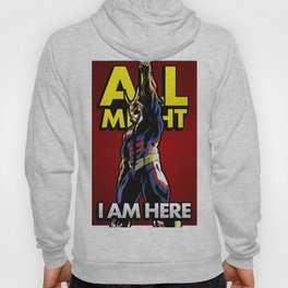 All Might Here Red Hoody
