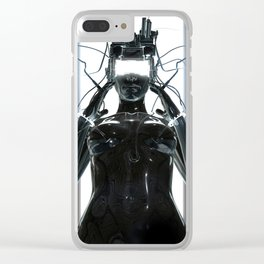CYBERCRIME Clear iPhone Case