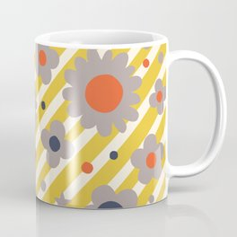 Punk Flower in Primary Coffee Mug