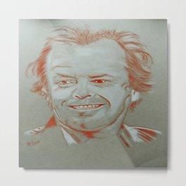 Jack Nicholson Metal Print