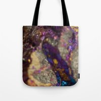 mineral Tote Bags featuring Mineral  by Andrew Zellmer