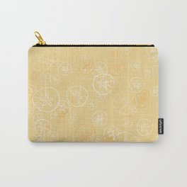 Golden sand dollar pattern Carry-All Pouch