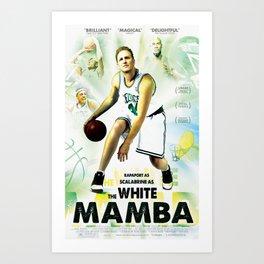 The White Mamba I Art Print