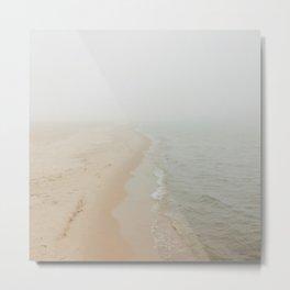 Where the Surf Meets the Sand | Muskegon, MI Metal Print