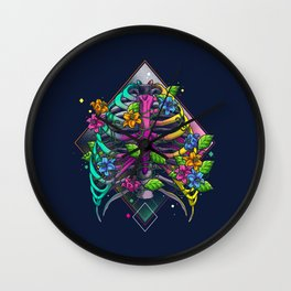 Joyful New Life Wall Clock