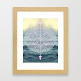 Oh those lovely colors Framed Art Print