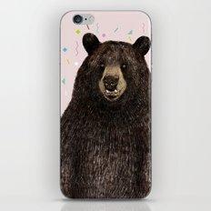 Black Bear iPhone & iPod Skin