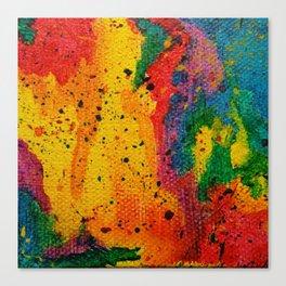 Rainbow Abstract #17 Canvas Print
