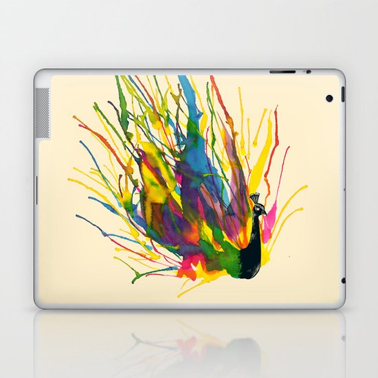 Colorful Peacock Laptop & iPad Skin