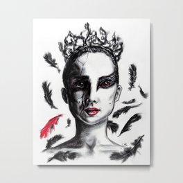 Black Swan Metal Print