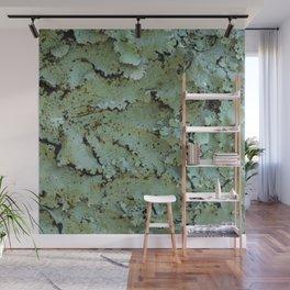 Green moss textures Wall Mural