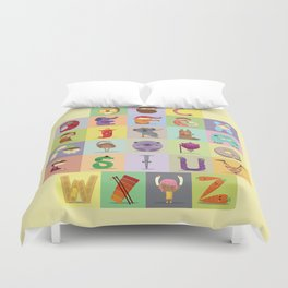 Abc Duvet Cover