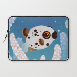 Blackspotted puffer Laptop Sleeve
