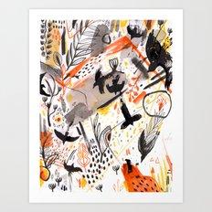 Pattern 15 Art Print