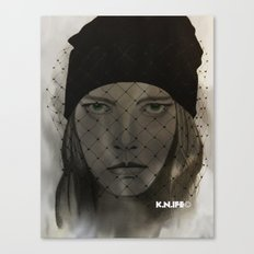 Mystery Girl Canvas Print